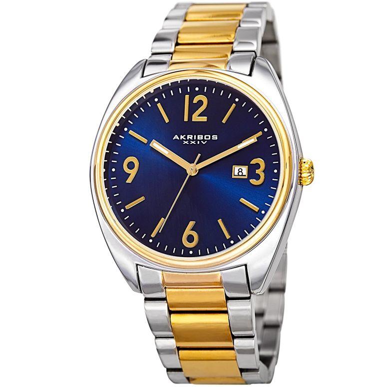 アクリボス Akribos XXIV 男性用 腕時計 メンズ ウォッチ ブルー AK957TTG 送料無料 【並行輸入品】