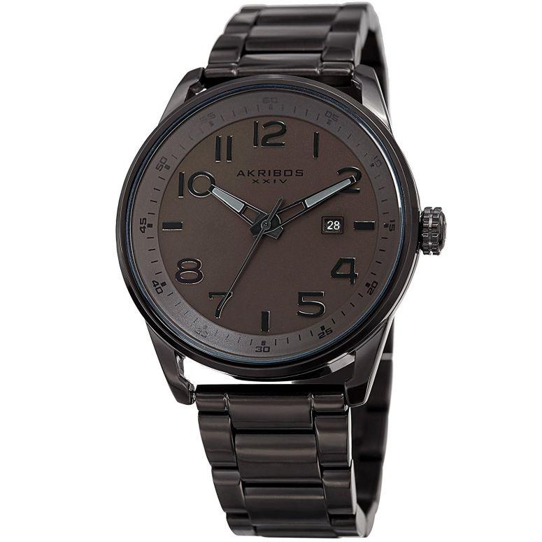アクリボス Akribos XXIV 男性用 腕時計 メンズ ウォッチ ブラウン AK956BR 送料無料 【並行輸入品】