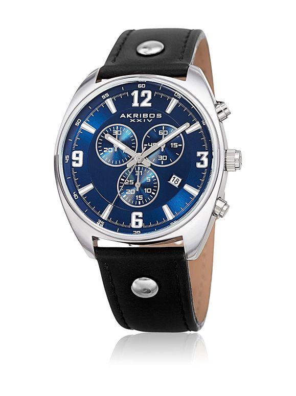 アクリボス Akribos XXIV 男性用 腕時計 メンズ ウォッチ ブルー AK969BKBU 送料無料 【並行輸入品】