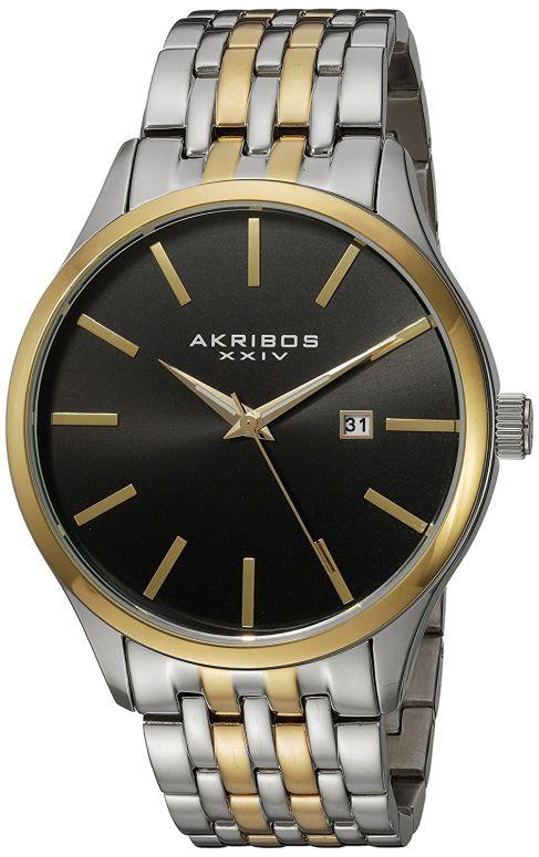 アクリボス Akribos XXIV 男性用 腕時計 メンズ ウォッチ ブラック AK941TTG 送料無料 【並行輸入品】