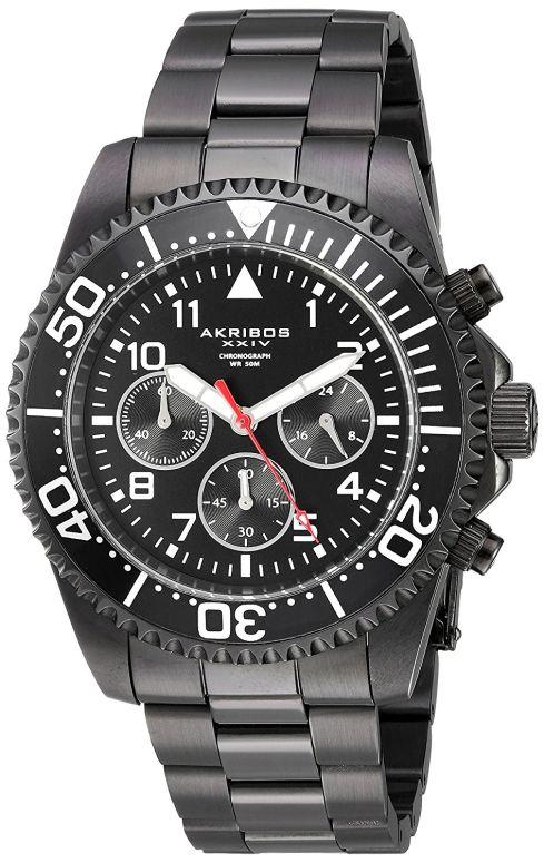 アクリボス Akribos XXIV 男性用 腕時計 メンズ ウォッチ ブラック AK950BK 送料無料 【並行輸入品】
