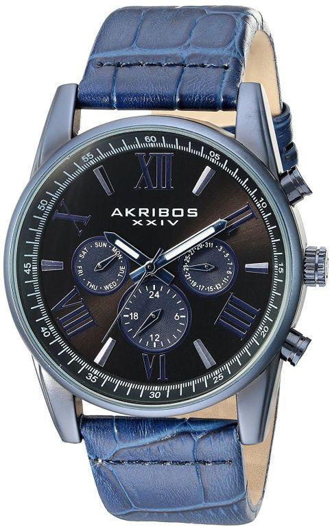 アクリボス Akribos XXIV 男性用 腕時計 メンズ ウォッチ ブラック AK911BU 送料無料 【並行輸入品】