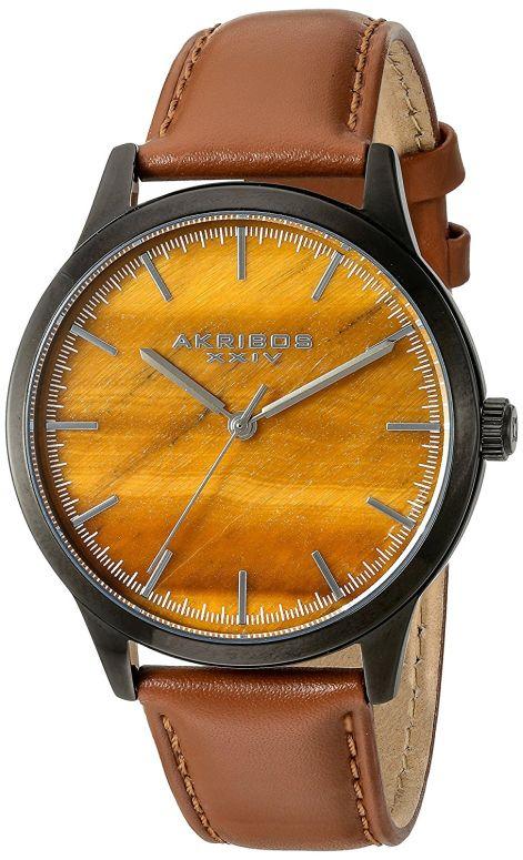 アクリボス Akribos XXIV 男性用 腕時計 メンズ ウォッチ ブラウン AK937TN 送料無料 【並行輸入品】