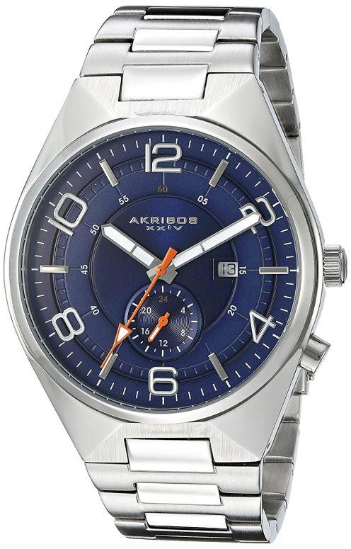 アクリボス Akribos XXIV 男性用 腕時計 メンズ ウォッチ ブルー AK849BU 送料無料 【並行輸入品】