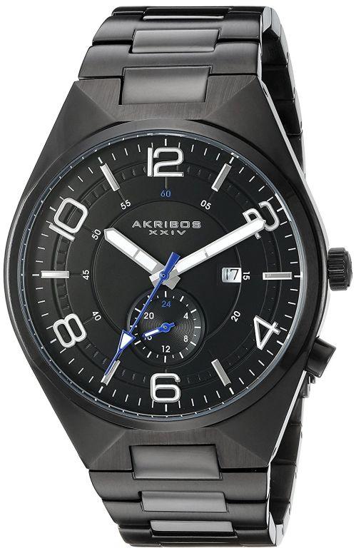 アクリボス Akribos XXIV 男性用 腕時計 メンズ ウォッチ ブラック AK849BK 送料無料 【並行輸入品】