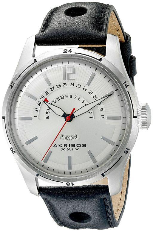 アクリボス Akribos XXIV 男性用 腕時計 メンズ ウォッチ シルバー AK850SS 送料無料 【並行輸入品】