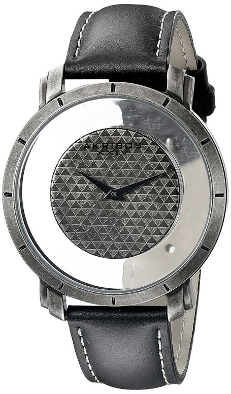 アクリボス Akribos XXIV 男性用 腕時計 メンズ ウォッチ シルバー AK856SSB 送料無料 【並行輸入品】