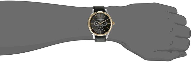 アクリボス Akribos XXIV 男性用 腕時計 メンズ ウォッチ シルバー AK870YGB 送料無料並行輸入品X8NwOPkn0