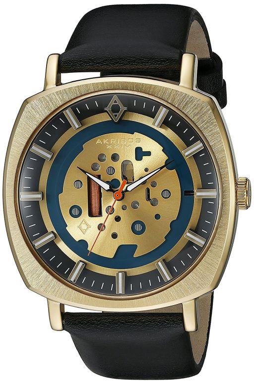アクリボス Akribos XXIV 男性用 腕時計 メンズ ウォッチ ゴールド AK826YGB 送料無料 【並行輸入品】