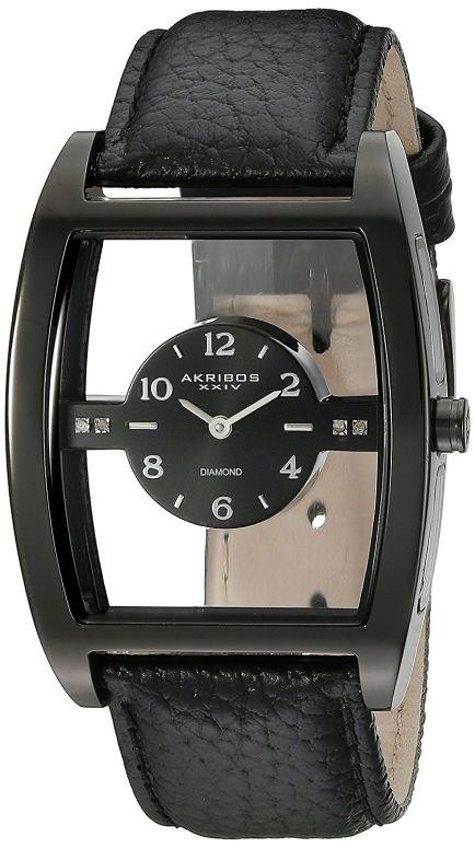 アクリボス Akribos XXIV 男性用 腕時計 メンズ ウォッチ ブラック AK820BK 送料無料 【並行輸入品】