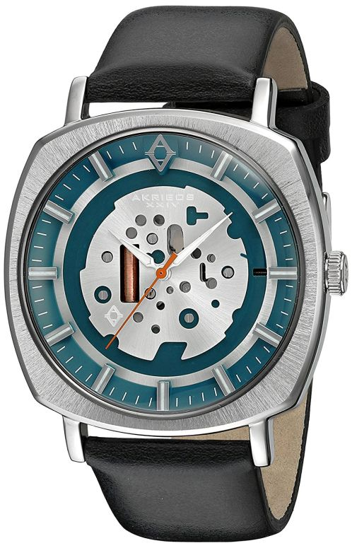 アクリボス Akribos XXIV 男性用 腕時計 メンズ ウォッチ シルバー AK826SSB 送料無料 【並行輸入品】