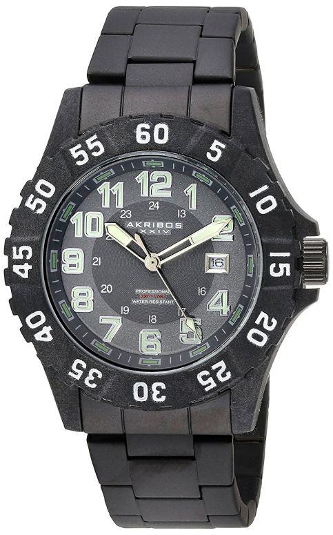 アクリボス Akribos XXIV 男性用 腕時計 メンズ ウォッチ グレー AK794WT 送料無料 【並行輸入品】
