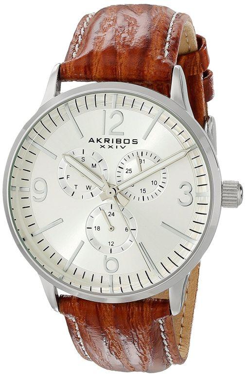 アクリボス Akribos XXIV 男性用 ウォッチ 腕時計 メンズ アクリボス ウォッチ シルバー AK769BR 腕時計 送料無料【並行輸入品】, unstitch:6565e6c1 --- sunward.msk.ru