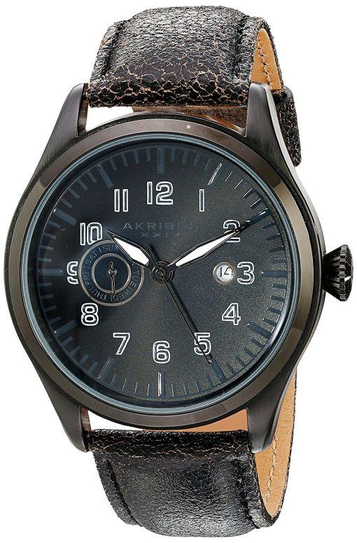 アクリボス Akribos XXIV 男性用 腕時計 メンズ ウォッチ ブラック AK785BK 送料無料 【並行輸入品】