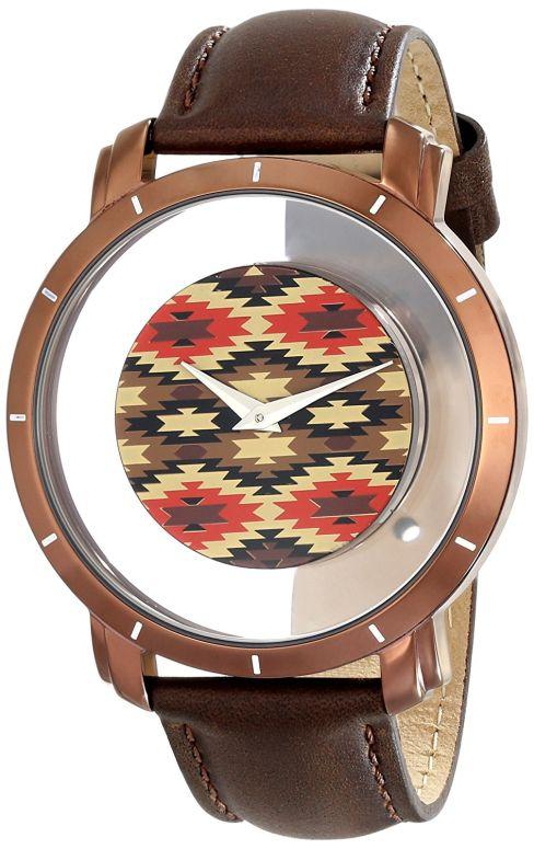 アクリボス Akribos XXIV 男性用 腕時計 メンズ ウォッチ ブラウン AK665XBR 送料無料 【並行輸入品】
