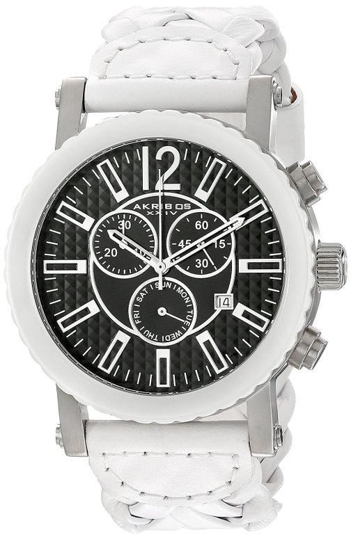 アクリボス Akribos XXIV 男性用 腕時計 メンズ ウォッチ ブラック AK571WT 送料無料 【並行輸入品】