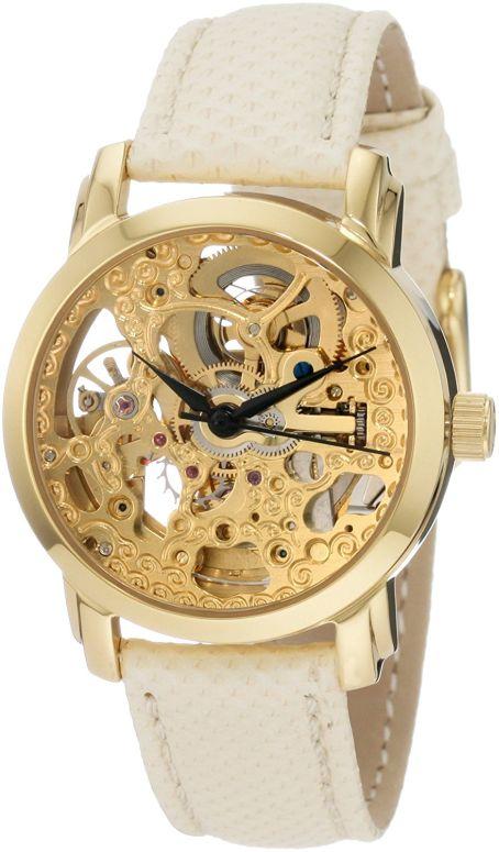 アクリボス Akribos XXIV 女性用 腕時計 レディース ウォッチ ゴールド AKR431YG 送料無料 【並行輸入品】