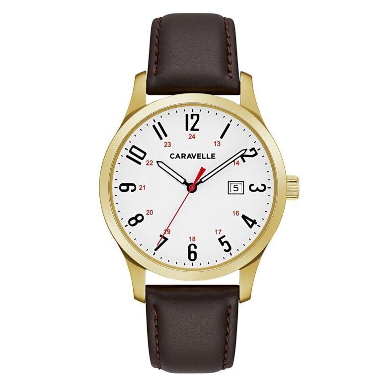 ブローバ Bulova 男性用 腕時計 メンズ ウォッチ ホワイト 44B116 送料無料 【並行輸入品】