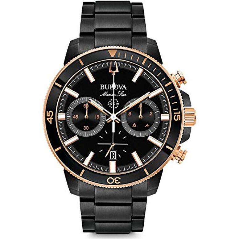 ブローバ Bulova 男性用 腕時計 メンズ ウォッチ ブラック 98B302-000 送料無料 【並行輸入品】