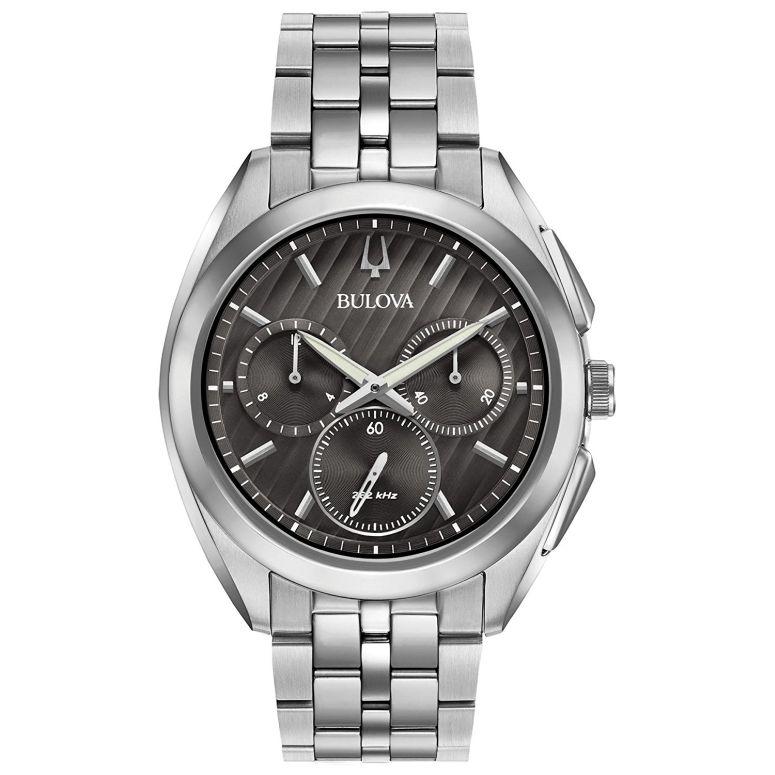 ブローバ Bulova 男性用 腕時計 メンズ ウォッチ グレー 96A186 送料無料 【並行輸入品】