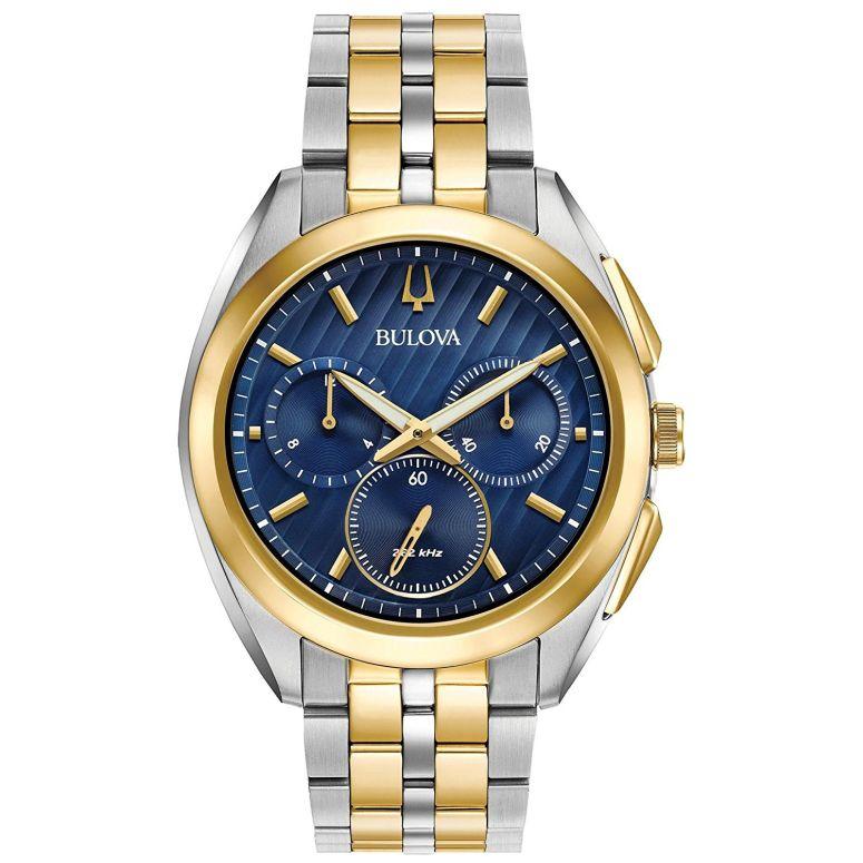 ブローバ Bulova 男性用 腕時計 メンズ ウォッチ ブルー 98A159 送料無料 【並行輸入品】