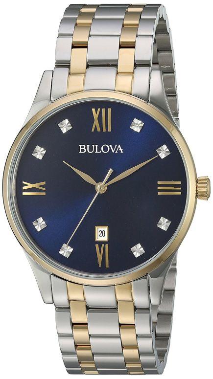 ブローバ Bulova 男性用 腕時計 メンズ ウォッチ ブルー 98D130 送料無料 【並行輸入品】