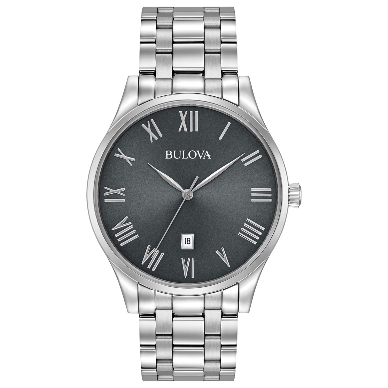 ブローバ Bulova 男性用 腕時計 メンズ ウォッチ グレー 96B261 送料無料 【並行輸入品】