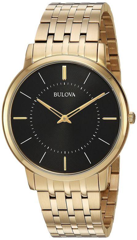 ブローバ Bulova 男性用 腕時計 メンズ ウォッチ ブラック 97A127 送料無料 【並行輸入品】