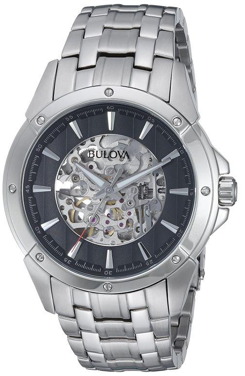 ブローバ Bulova 男性用 腕時計 メンズ ウォッチ ブラック 96A170 送料無料 【並行輸入品】