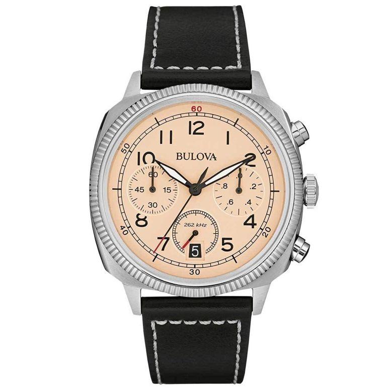ブローバ Bulova 男性用 腕時計 メンズ ウォッチ ベージュ 96B231 送料無料 【並行輸入品】