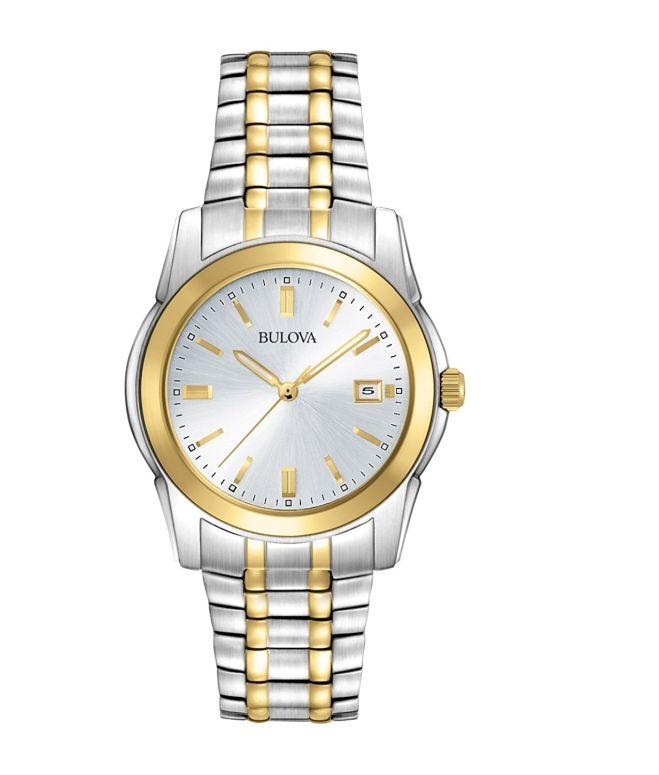 ブローバ Bulova 男性用 腕時計 メンズ ウォッチ シルバー 98H18 送料無料 【並行輸入品】