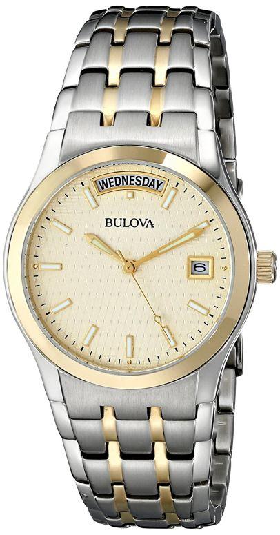 ブローバ Bulova 男性用 腕時計 メンズ ウォッチ シャンパン 98C60 送料無料 【並行輸入品】