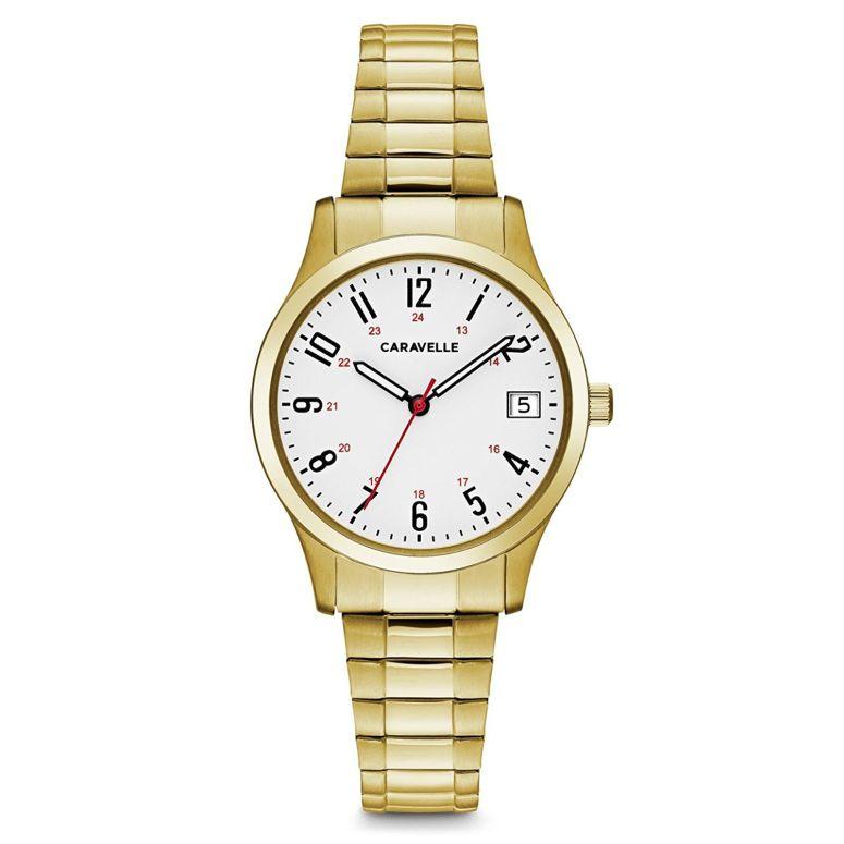 ブローバ Bulova 女性用 腕時計 レディース ウォッチ ホワイト 44M113 送料無料 【並行輸入品】