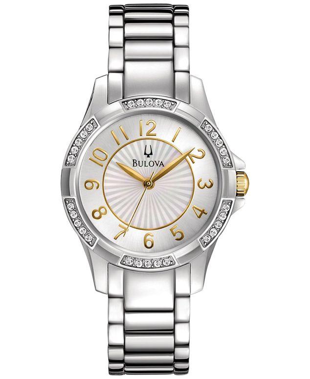 ブローバ Bulova 女性用 腕時計 レディース ウォッチ ゴールド 98L175 送料無料 【並行輸入品】