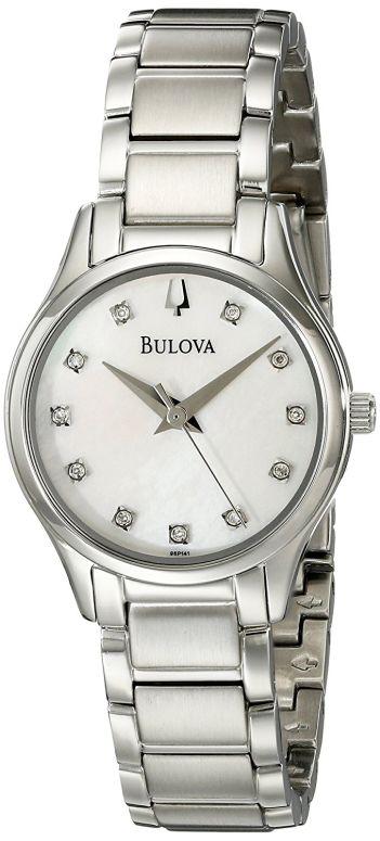 ブローバ Bulova 女性用 腕時計 レディース ウォッチ パール 96P141 送料無料 【並行輸入品】