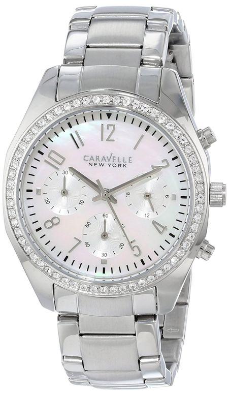ブローバ Bulova 女性用 腕時計 レディース ウォッチ パール 43L159 送料無料 【並行輸入品】