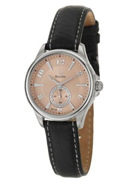ブローバ Bulova 女性用 腕時計 レディース ウォッチ ブラック 96L135 送料無料