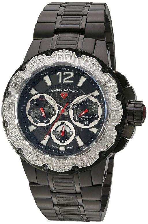 スイスレジェンド Swiss Legend 男性用 腕時計 メンズ ウォッチ ブラック 14097SM-BB-11-SB 送料無料 【並行輸入品】