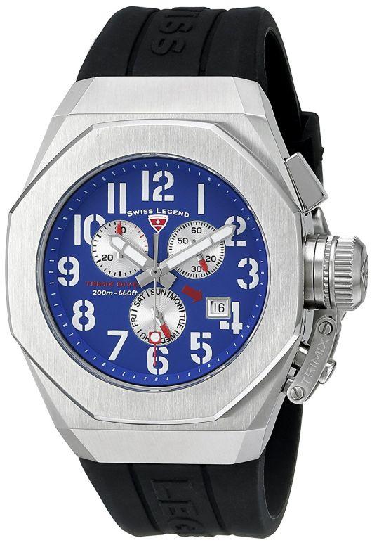 スイスレジェンド Swiss Legend 男性用 腕時計 メンズ ウォッチ ブルー 10542-03 送料無料 【並行輸入品】