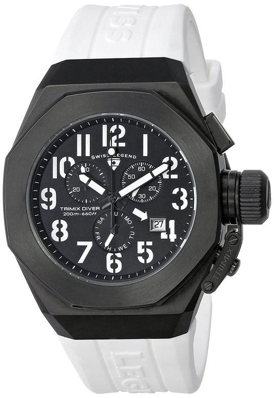 スイスレジェンド Swiss Legend 男性用 腕時計 メンズ ウォッチ クロノグラフ ブラック 10542-BB-01-WA 送料無料 【並行輸入品】