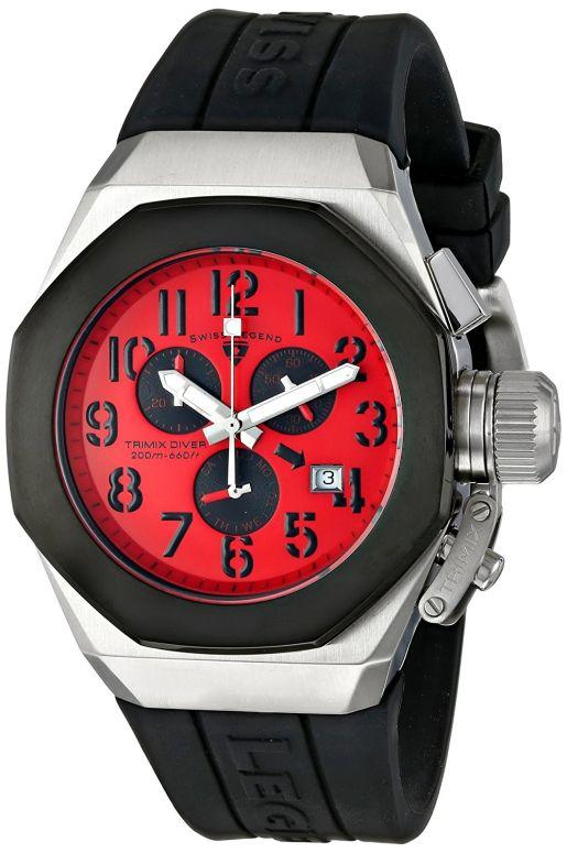 スイスレジェンド Swiss Legend 男性用 腕時計 メンズ ウォッチ クロノグラフ レッド 10542-05-BB 送料無料 【並行輸入品】