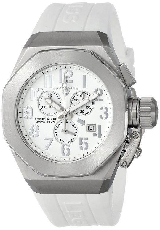 スイスレジェンド Swiss Legend 男性用 腕時計 メンズ ウォッチ クロノグラフ ホワイト 10542-02-SA 送料無料 【並行輸入品】