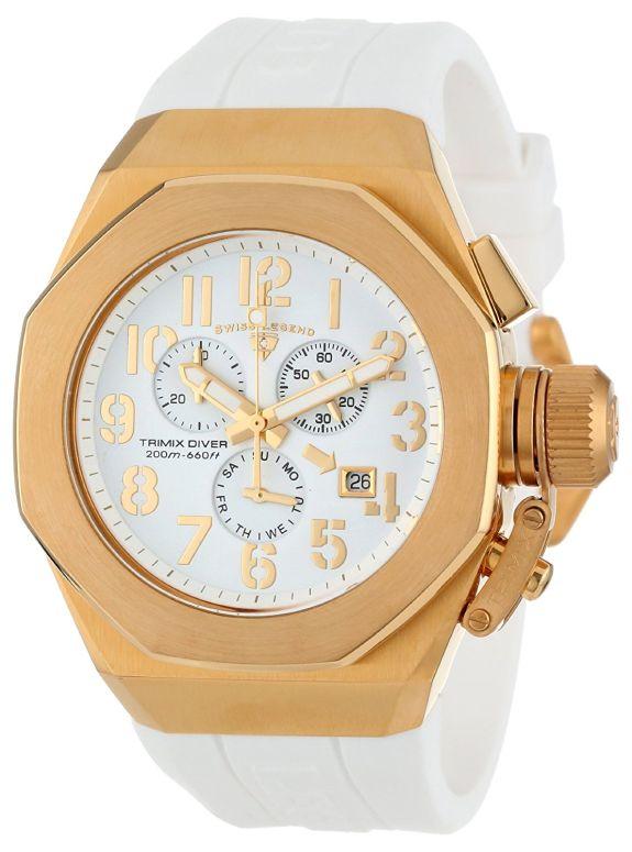 スイスレジェンド Swiss Legend 男性用 腕時計 メンズ ウォッチ クロノグラフ ホワイト 10542-YG-02-GA 送料無料 【並行輸入品】