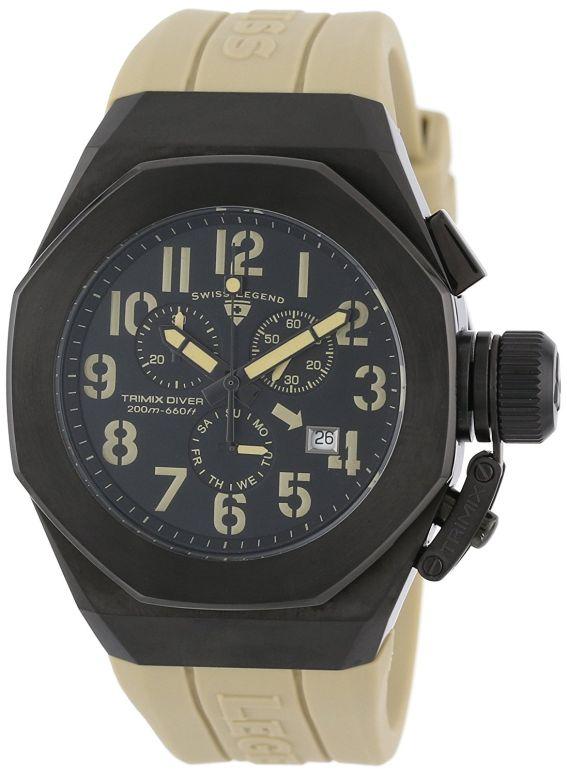 スイスレジェンド Swiss Legend 男性用 腕時計 メンズ ウォッチ クロノグラフ ブラック 10542-BB-01-CMA 送料無料 【並行輸入品】