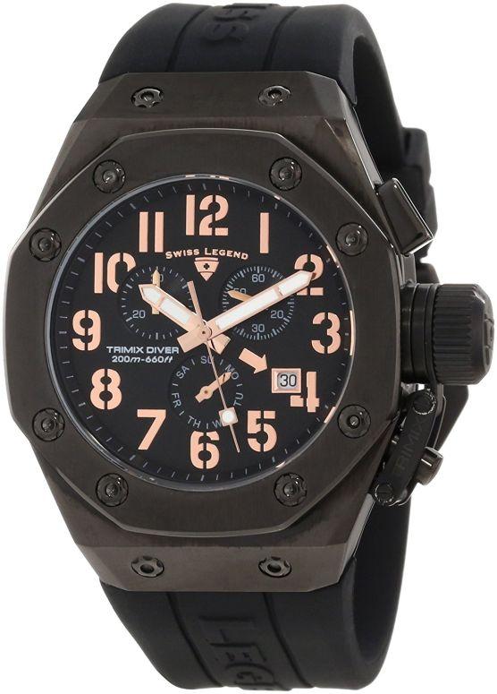 スイスレジェンド Swiss Legend 男性用 腕時計 メンズ ウォッチ クロノグラフ ブラック 10541-BB-01-RA 送料無料 【並行輸入品】