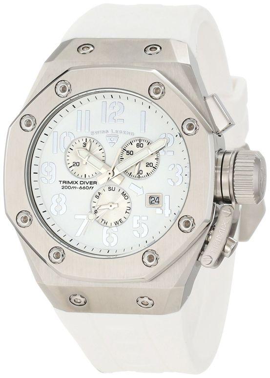 スイスレジェンド Swiss Legend 男性用 腕時計 メンズ ウォッチ クロノグラフ ホワイト 10541-02-SA 送料無料 【並行輸入品】