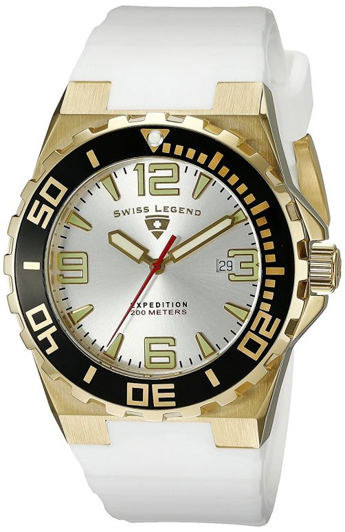 スイスレジェンド Swiss Legend 男性用 腕時計 メンズ ウォッチ シルバー 10008-YG-02S-BB 送料無料 【並行輸入品】