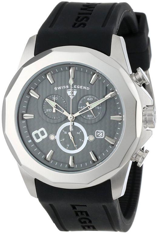 スイスレジェンド Swiss Legend 男性用 腕時計 メンズ ウォッチ クロノグラフ グレー 10042-014 送料無料 【並行輸入品】