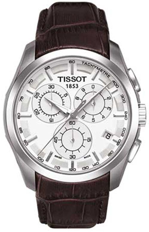 ティソ Tissot 男性用 腕時計 メンズ ウォッチ クロノグラフ シルバー T035.617.16.031.00 送料無料 【並行輸入品】
