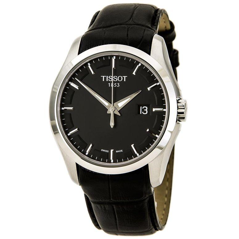 ティソ Tissot 男性用 腕時計 メンズ ウォッチ ブラック T035.410.16.051.00 送料無料 【並行輸入品】